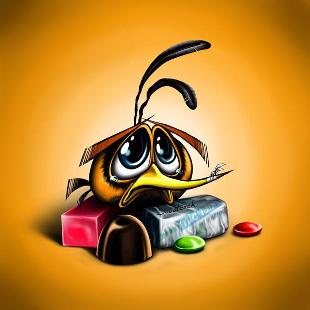 Les FanArt Angry Birds de Sylwia W 9