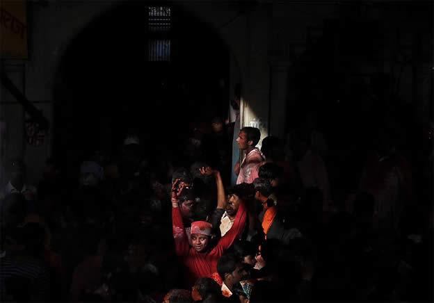 Holi Festival en Inde par Kevin Frayer 10