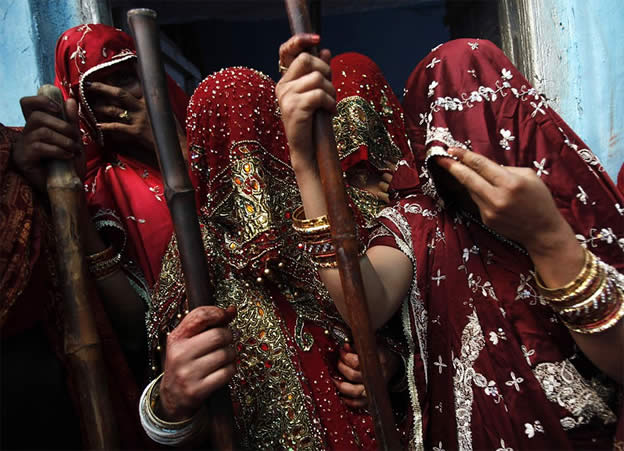 Holi Festival en Inde par Kevin Frayer 13