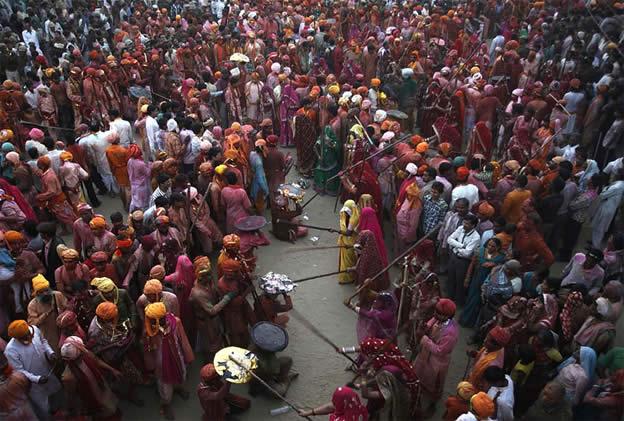 Holi Festival en Inde par Kevin Frayer 17