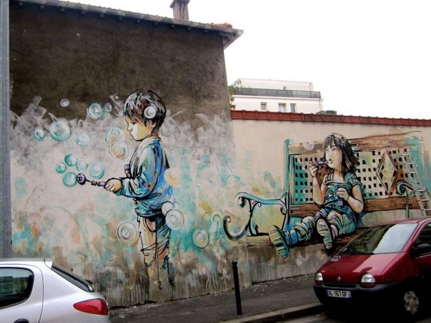 15 streetart creatif design vol9 50 street art fun et créatifs – vol 9