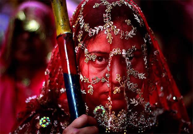 Holi Festival en Inde par Kevin Frayer 20