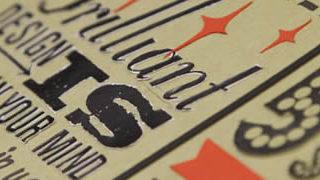Les 18 nouveaux commandements du Designer - Poster typographique 1