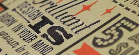 Les 18 nouveaux commandements du Designer - Poster typographique 8