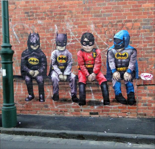 29 streetart creatif design vol9 50 street art fun et créatifs – vol 9