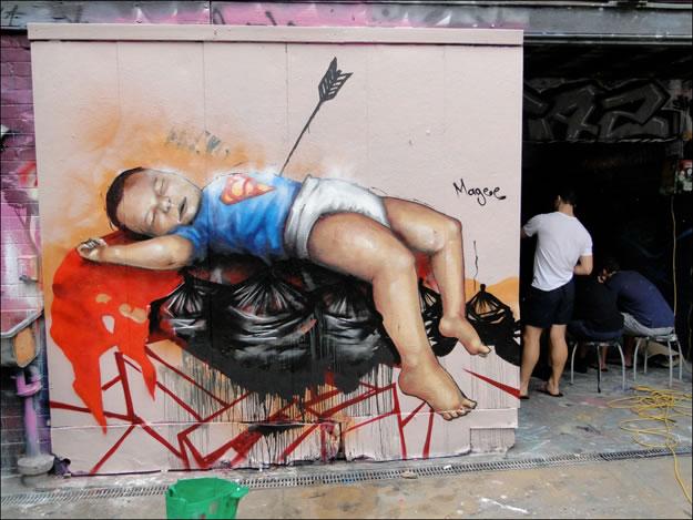 31 streetart creatif design vol9 50 street art fun et créatifs – vol 9