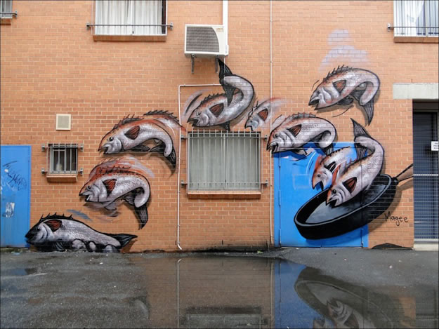 32 streetart creatif design vol9 50 street art fun et créatifs – vol 9