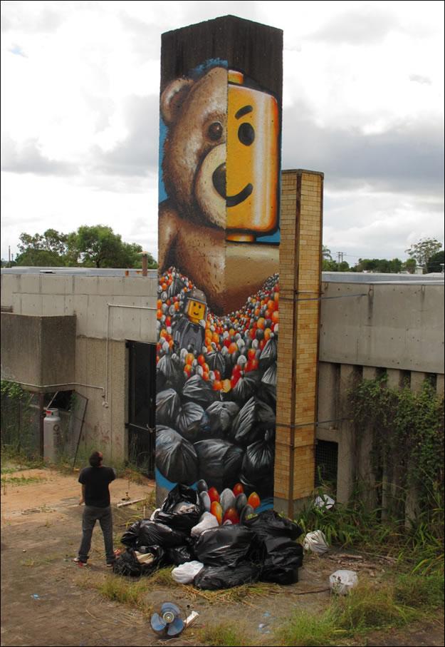33 streetart creatif design vol9 50 street art fun et créatifs – vol 9