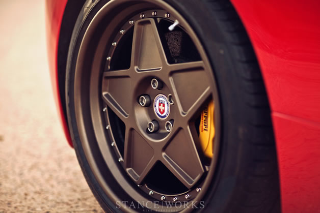Ferrari 458 Italia Vintage HRE 8