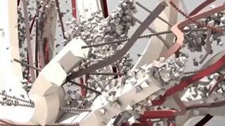 Forms Excerpt - Wow, les sportifs en explosion 3D