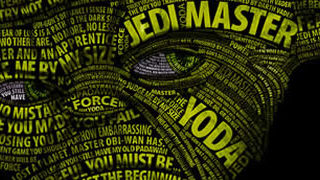 Posters Starwars en Typographie 1
