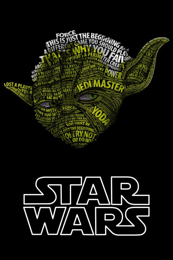 Posters Starwars en Typographie 4