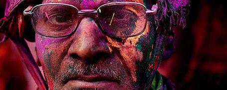 Holi Festival en Inde par Kevin Frayer 7