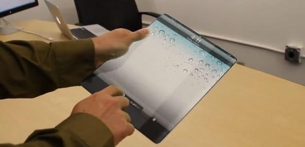 Un concept d'ipad 3 futuriste  2