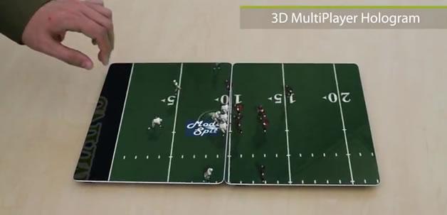 Un concept d'ipad 3 futuriste 3