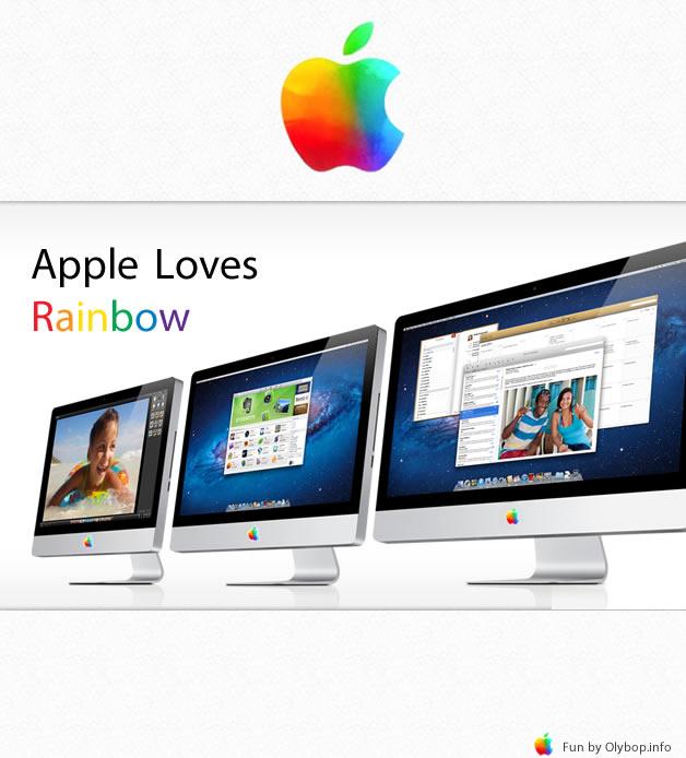Nouveau Logo Apple et ses déclinaisons produits 5