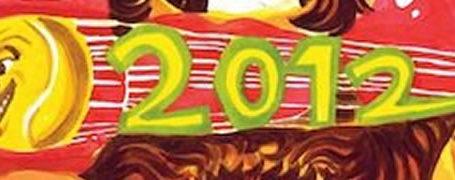 L'affiche Rolland Garros 2012 est... surprenante ! 2