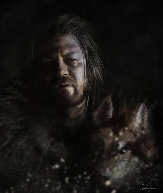 Superbes FanArts Game of Thrones  6