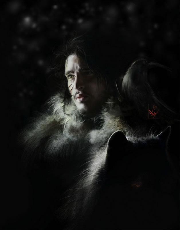 Superbes FanArts Game of Thrones  7