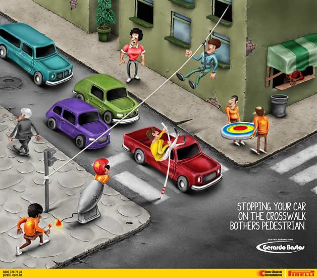 100 publicités designs et créatives d'avril 2012 32
