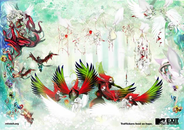 100 publicités designs et créatives d'avril 2012 56