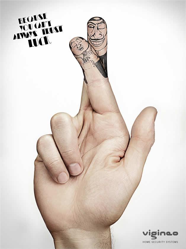 100 publicités designs et créatives d'avril 2012 100