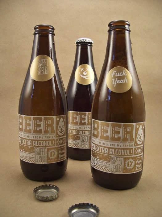 90 Packaging de bouteilles de Bières Design et créatifs 17