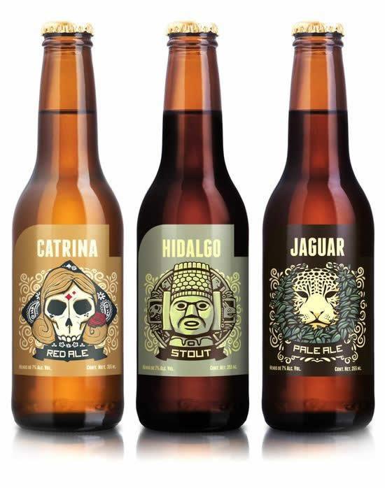 90 Packaging de bouteilles de Bières Design et créatifs 24