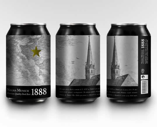 90 Packaging de bouteilles de Bières Design et créatifs 25