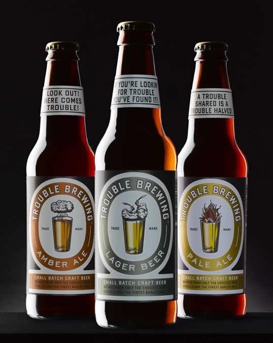 90 Packaging de bouteilles de Bières Design et créatifs 34