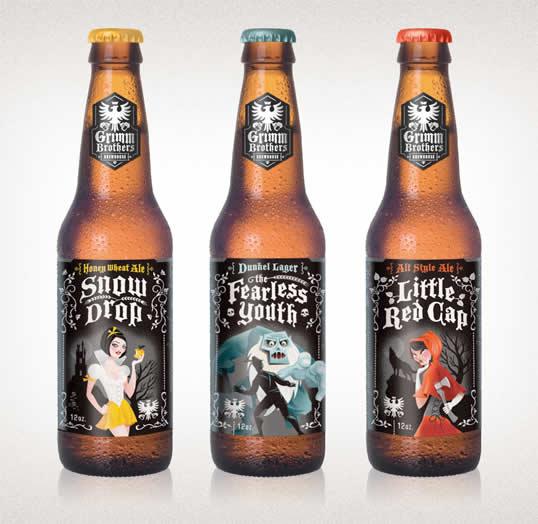 90 Packaging de bouteilles de Bières Design et créatifs 51