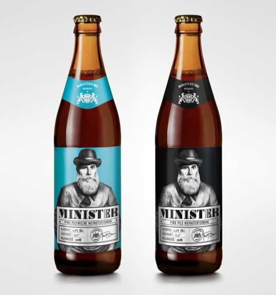 90 Packaging de bouteilles de Bières Design et créatifs 64
