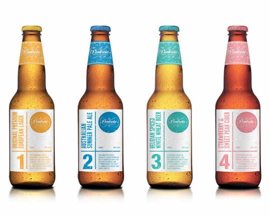 90 Packaging de bouteilles de Bières Design et créatifs 80