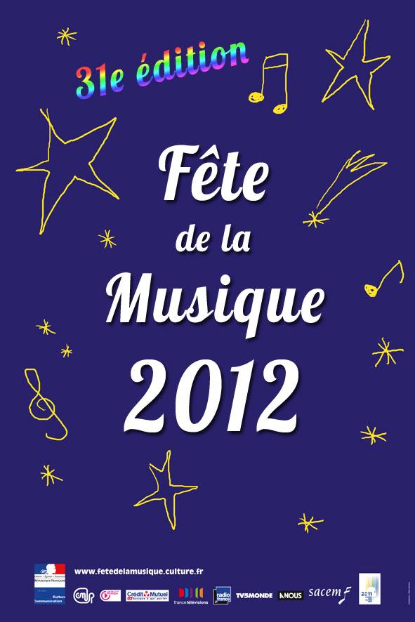 Nouvelle affiche de la fête de la musique 2012 - Pire que 2011 2