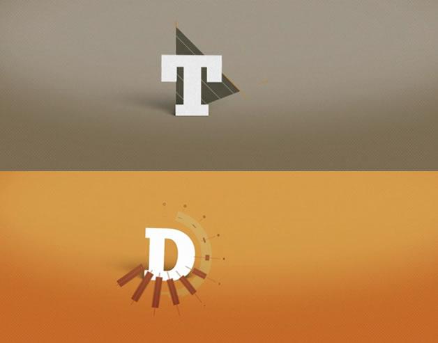 alphabetic motion design