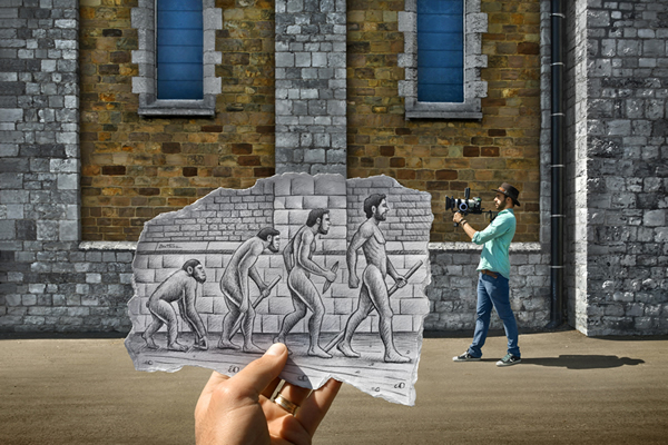 Les Crayons VS Photos de Ben Heine - vol 2 16