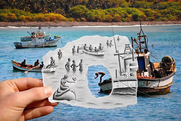 Les Crayons VS Photos de Ben Heine - vol 2 26