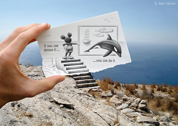 Les Crayons VS Photos de Ben Heine - vol 2 27