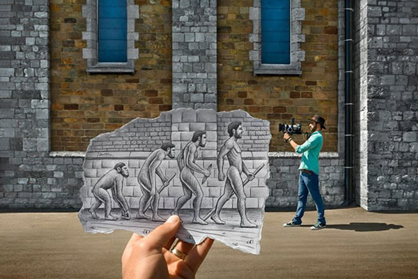 Les Crayons VS Photos de Ben Heine - vol 2 28