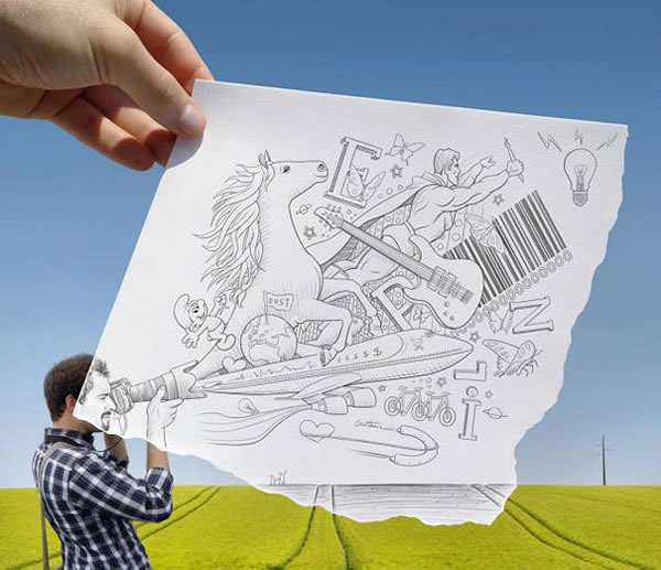 Les Crayons VS Photos de Ben Heine - vol 2 29