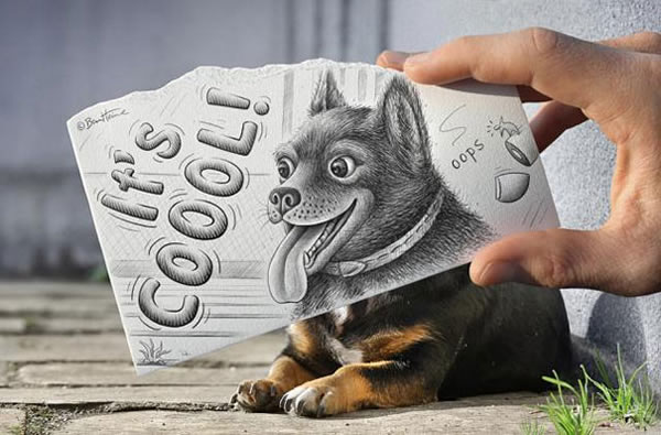 Les Crayons VS Photos de Ben Heine - vol 2 4