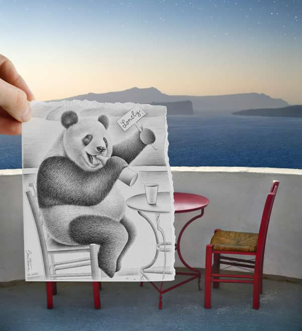 Les Crayons VS Photos de Ben Heine - vol 2 17