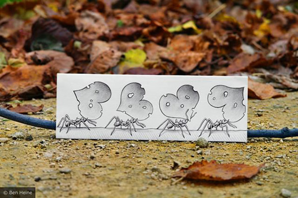 Les Crayons VS Photos de Ben Heine - vol 2 6