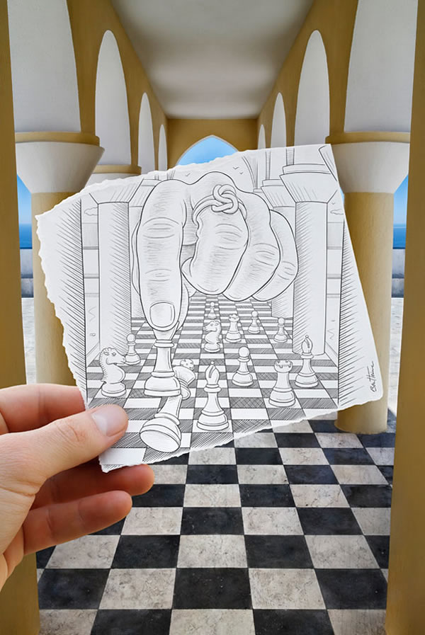 Les Crayons VS Photos de Ben Heine - vol 2 9