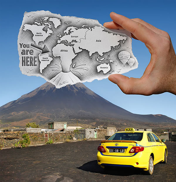 Les Crayons VS Photos de Ben Heine - vol 2 12