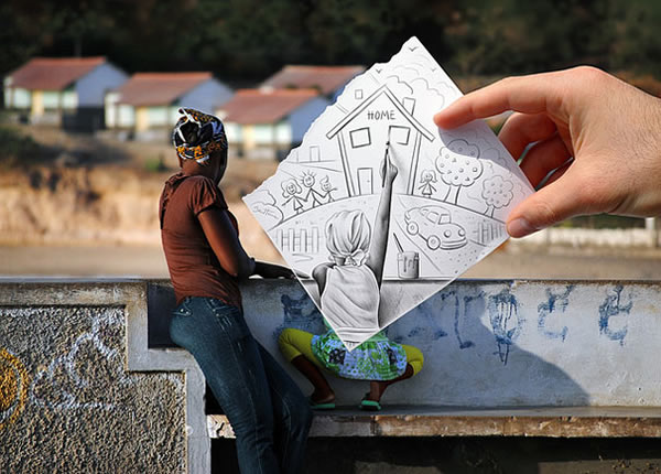 Les Crayons VS Photos de Ben Heine - vol 2 13
