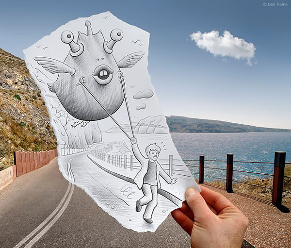 Les Crayons VS Photos de Ben Heine - vol 2 15