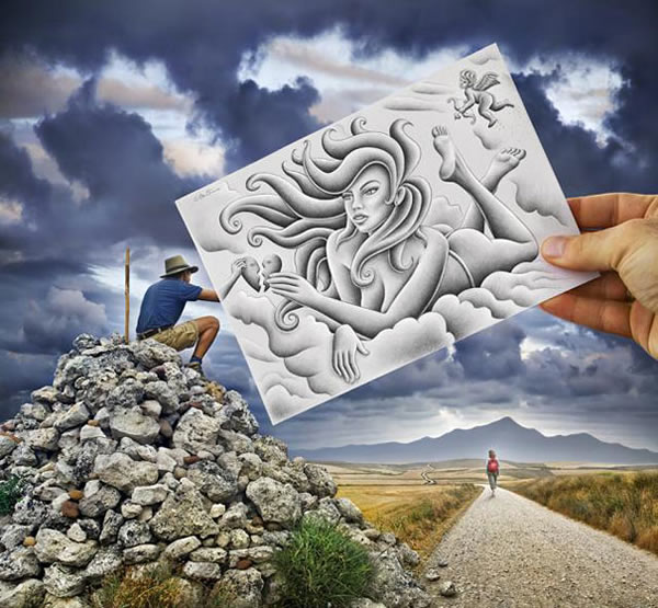 Les Crayons VS Photos de Ben Heine - vol 2 22