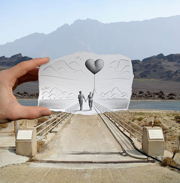 Les Crayons VS Photos de Ben Heine - vol 2 24