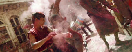 SlowMotion du Holi Festival 4